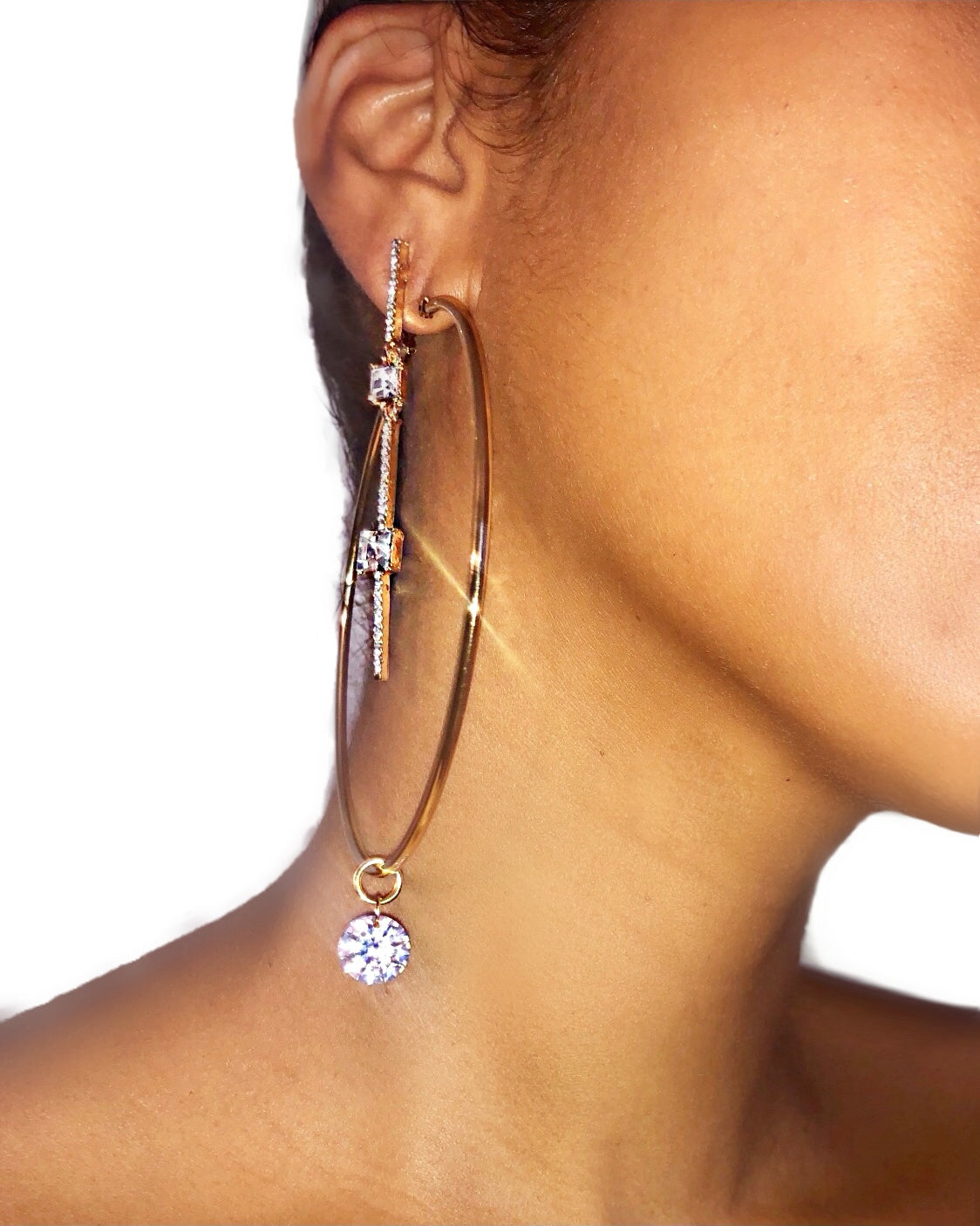 Izana Earrings 2 pc set {view}