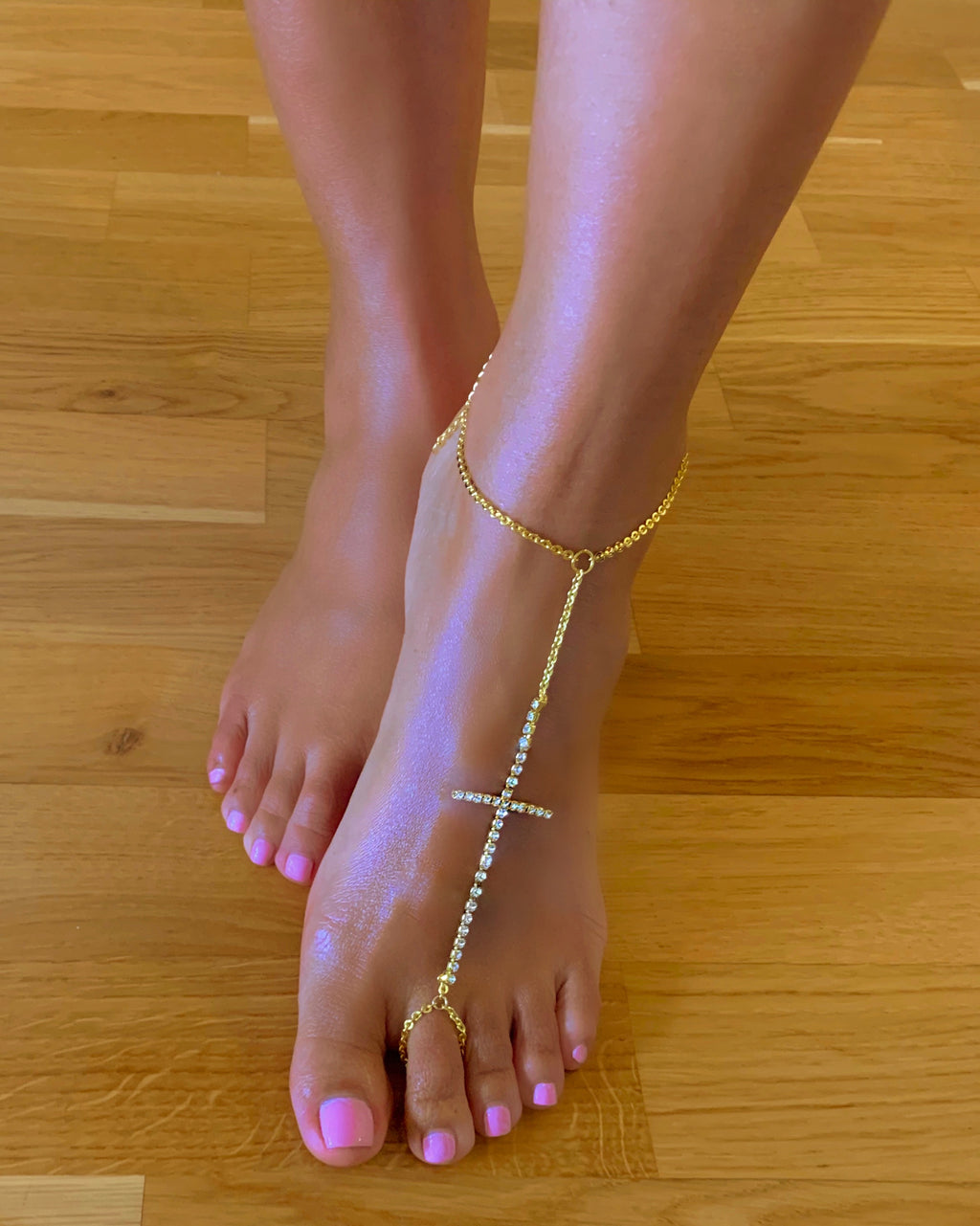 Atarah Anklet {view} Cross Placement Options