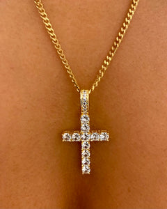 Cross Necklace {view}