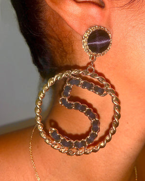 No5 Earrings {view}