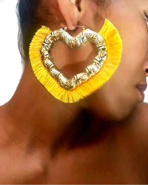 Ashika Earrings {view} Color Options