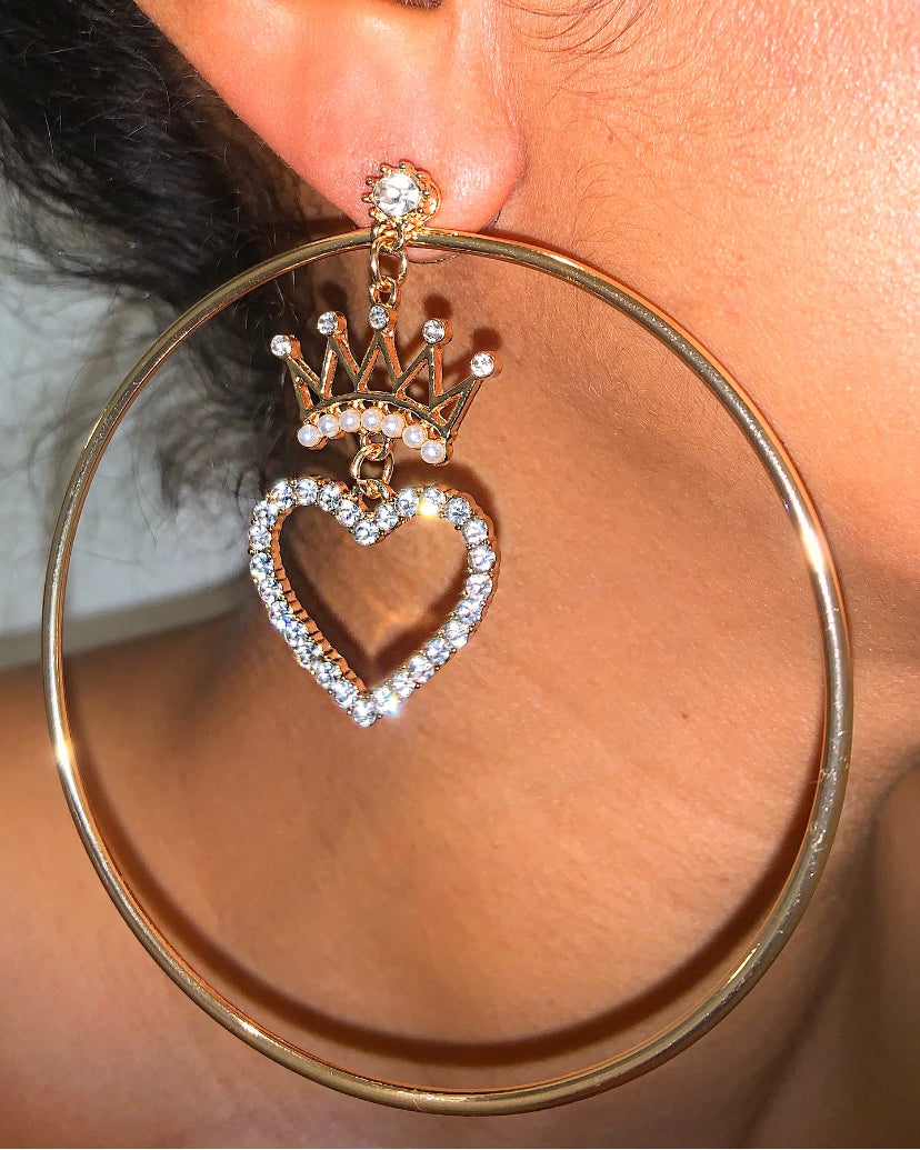 Ishana Hoop Earrings {view} 2 Styles In One