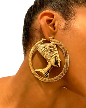 Nefertiti Earrings {view}