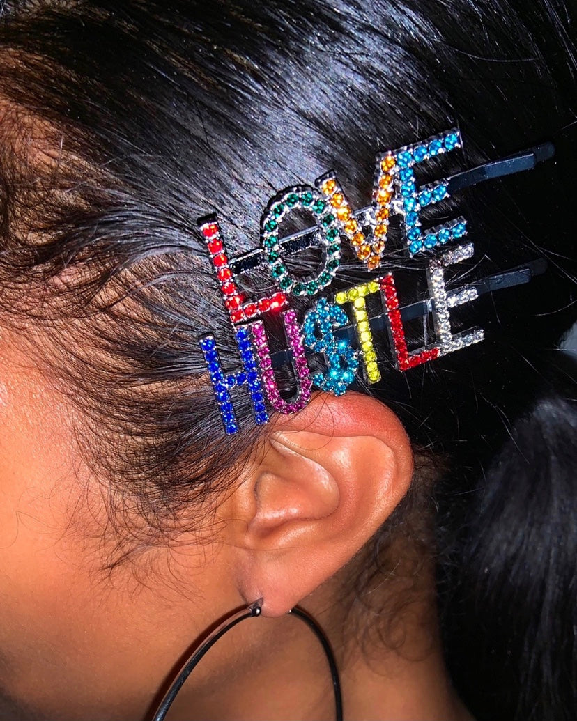 Love & Hu$tle Bobby Pin {view}