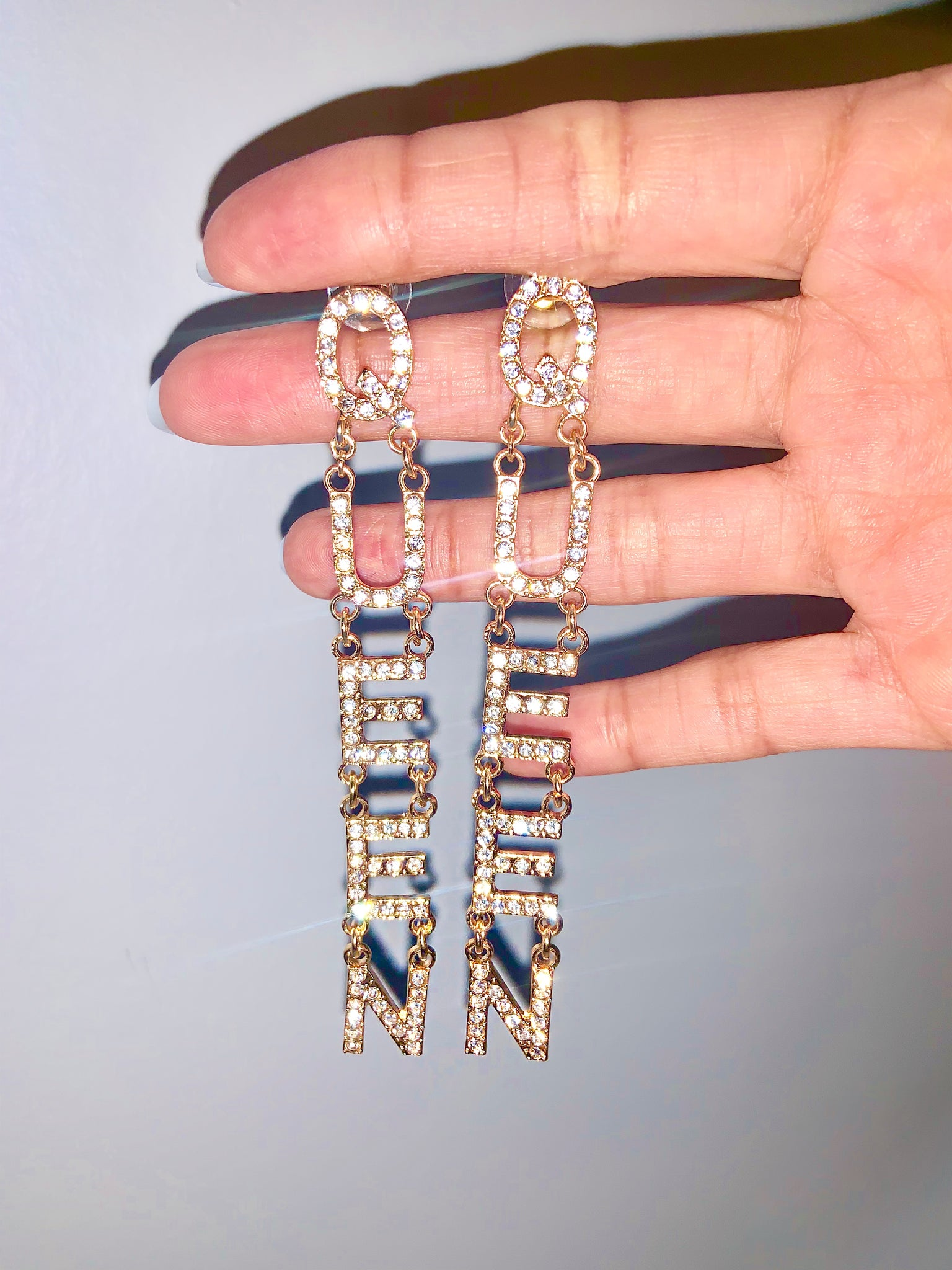 QUEEN Earrings {view}