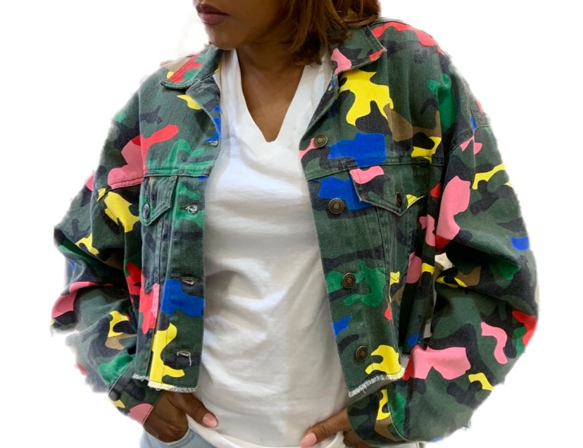 Candy Camo Jacket {view}