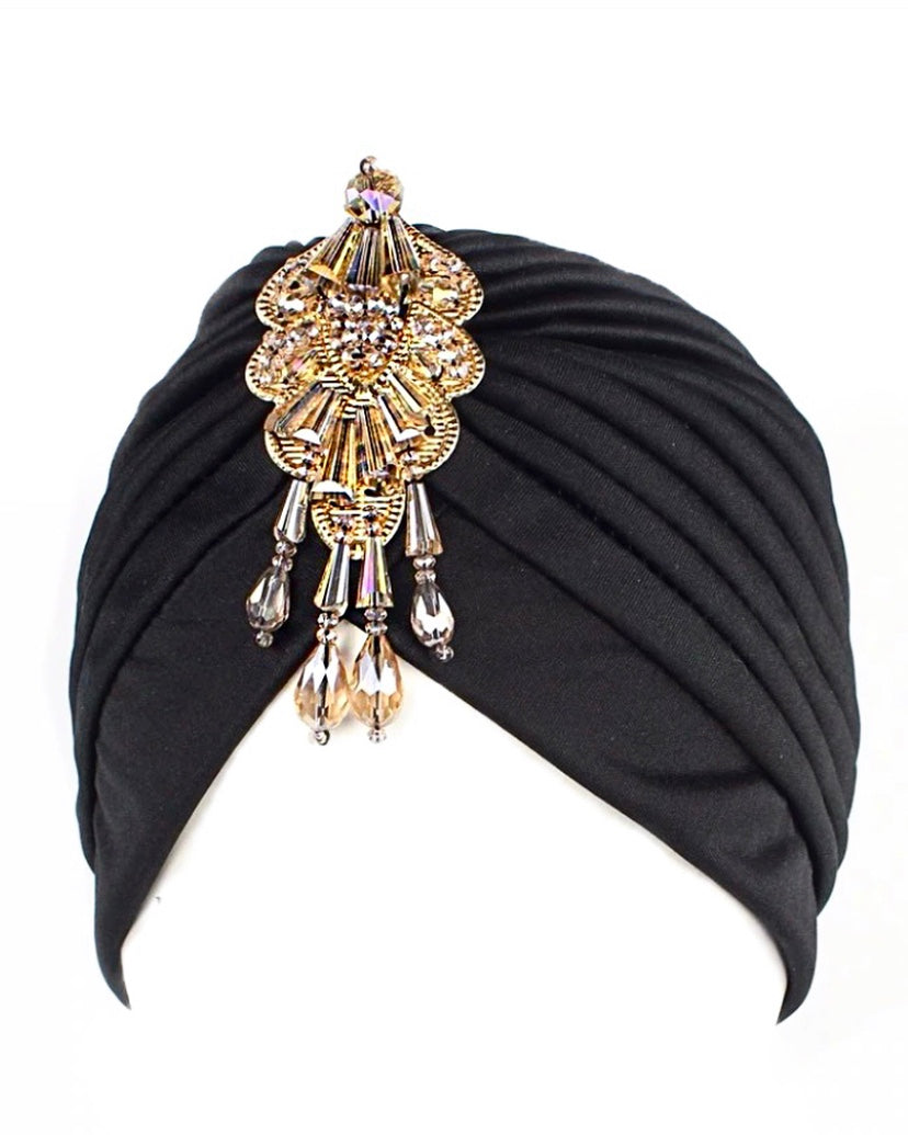 Taliba Turban {view}  Color Options