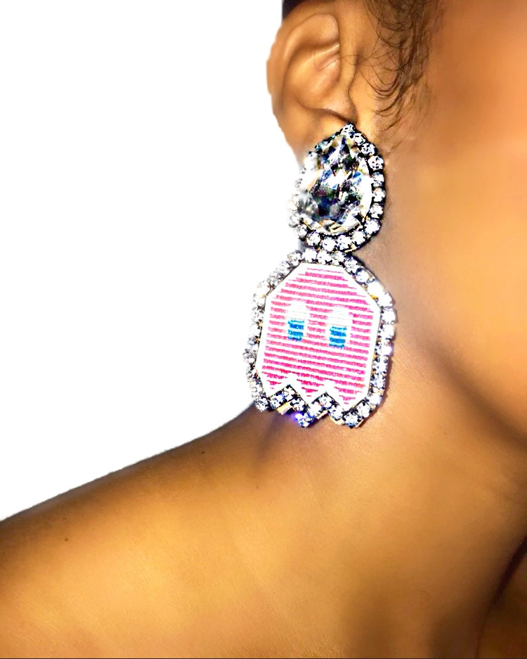 Pinky Earrings - Clip On {view}