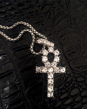 Ankh Necklace {view}
