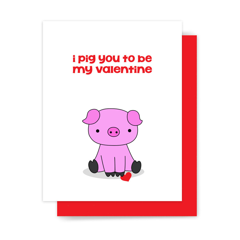 Narwhal Alway Love You Valentine Funny Valentines Day Card ...   Valentine  Pig