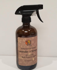 DIY Lavender Infused Cleaning Spray | MonkeyFlower Soap Co