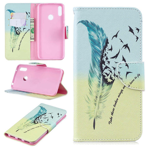 Magnetic Leather Wallet Phone Cases with Card Slot Holder