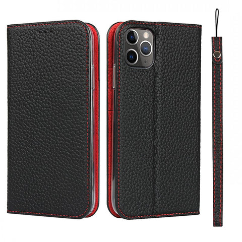 Case Leather Wallet Magnetic Cover for iPhone