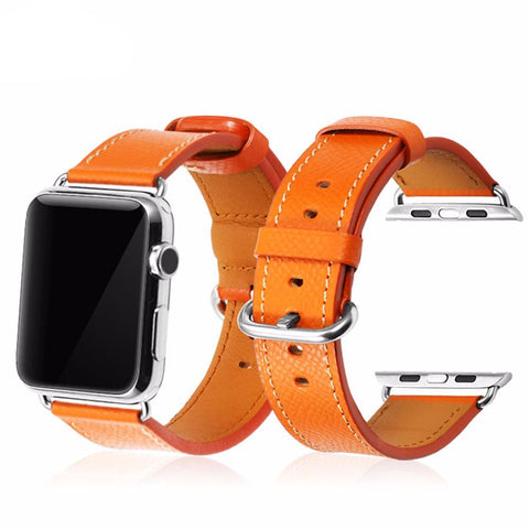 The Midtown Genuine Leather Apple Watch Band