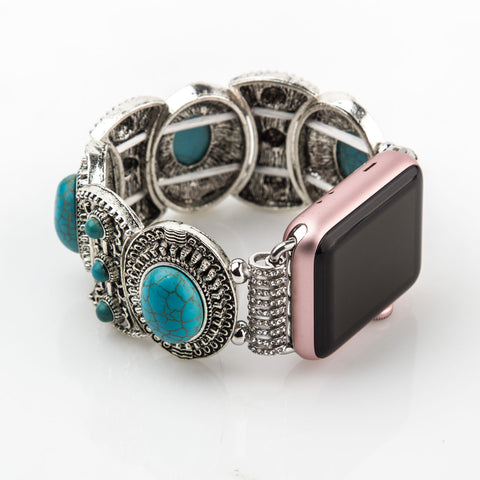 Retro Turquoise Apple Watch Band 38mm / 42mm