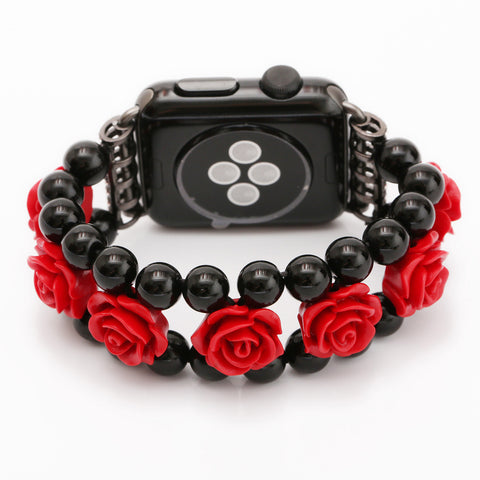 Roses & Beads Apple Watch Band 38mm / 42mm