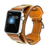The Tribeca Genuine Leather Apple Watch Band