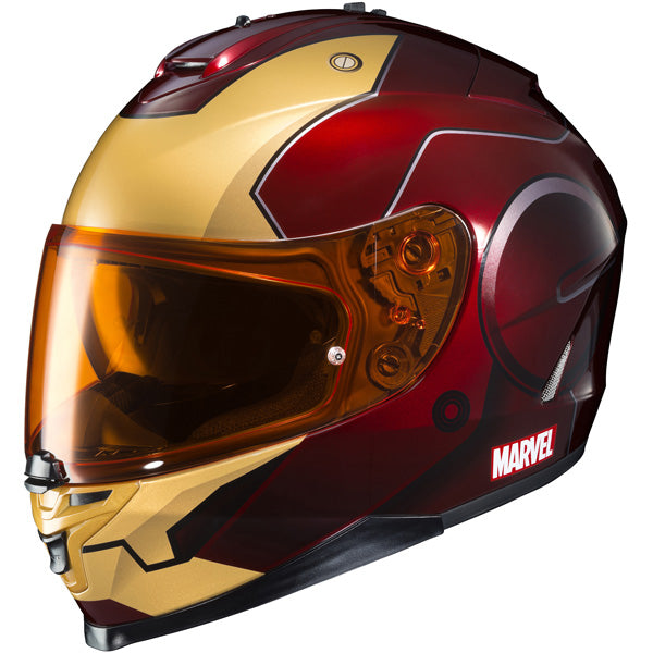 -HJC- 2017 IS-17 Marvel Iron Man Street Helmet