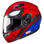 -HJC- 2017 CS-R3 Marvel Spiderman Home Coming Street Helmet