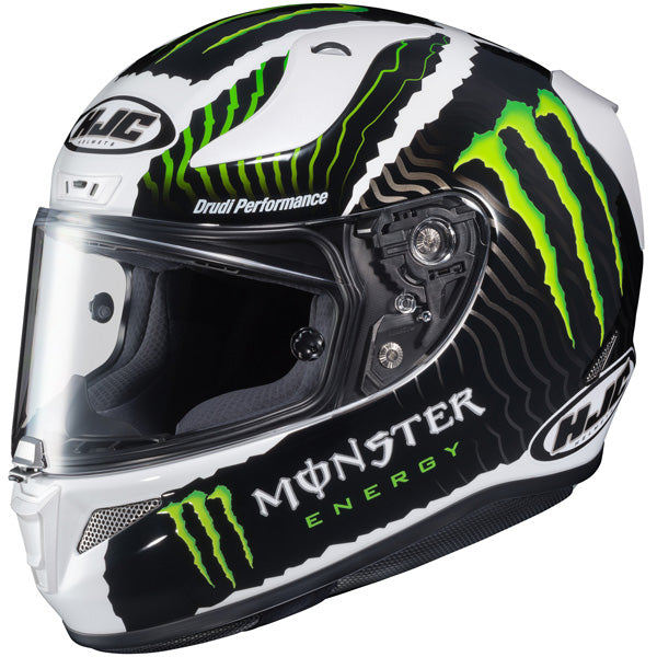 -HJC- 2017 RPHA-11 Pro Monster Military White Sand Street Helmet