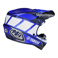 -Troy Lee Designs- 2019 SE4 Polyacrylite Mips TLD Yamaha RS1 Offroad Helmet