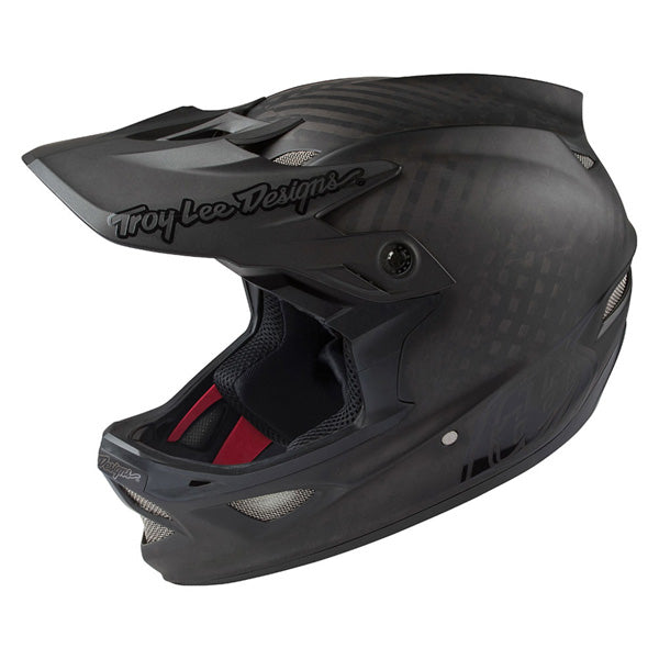 -Troy Lee- 2018 D3 Carbon Mips Midnight Bicycle Helmet