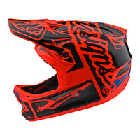 -Troy Lee Designs- 2018 D3 FiberLite Factory Bicycle Helmet