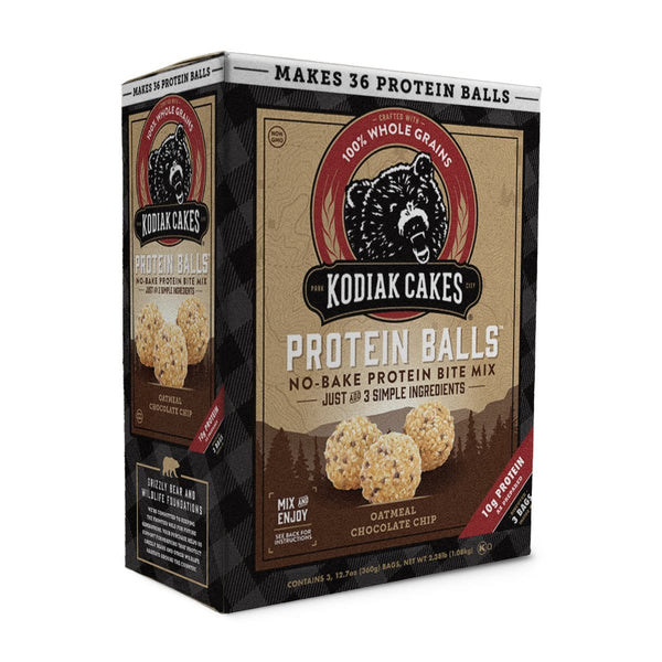 Grizzly Sized Oatmeal Chocolate Chip Protein Balls (60oz)