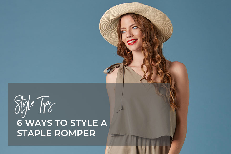 6 Tips to Style a Staple Romper