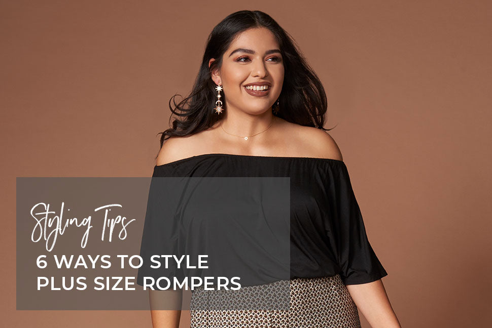 Styling Tips for Plus Size Rompers