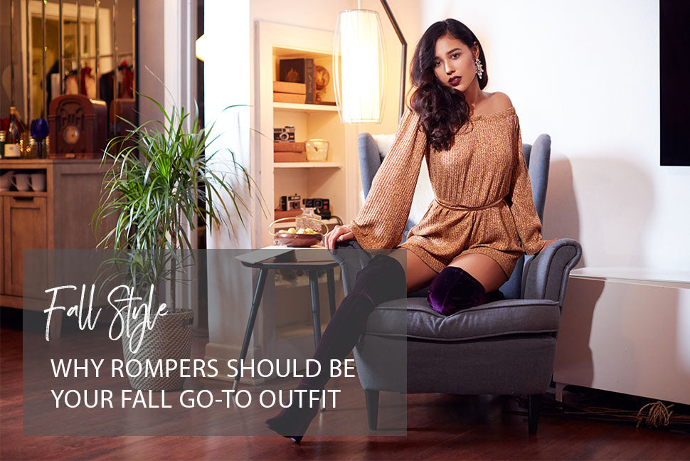 Why Rompers Should Be Your Fall Go To