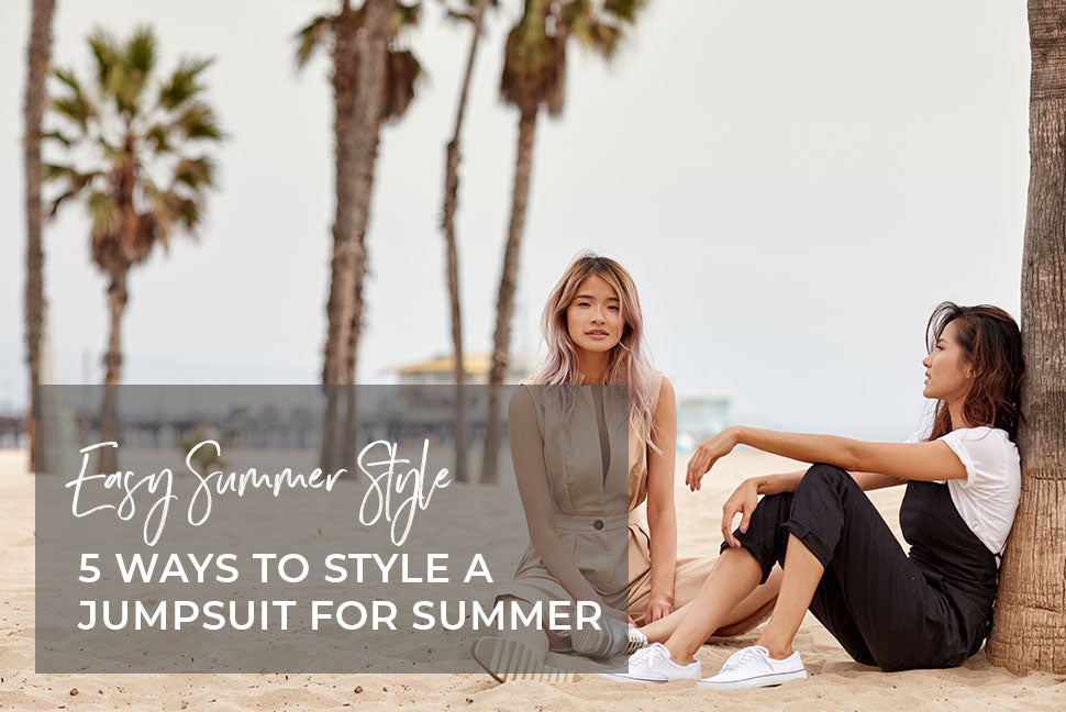 5 Easy Ways to Style a Jumpsuit for Summer