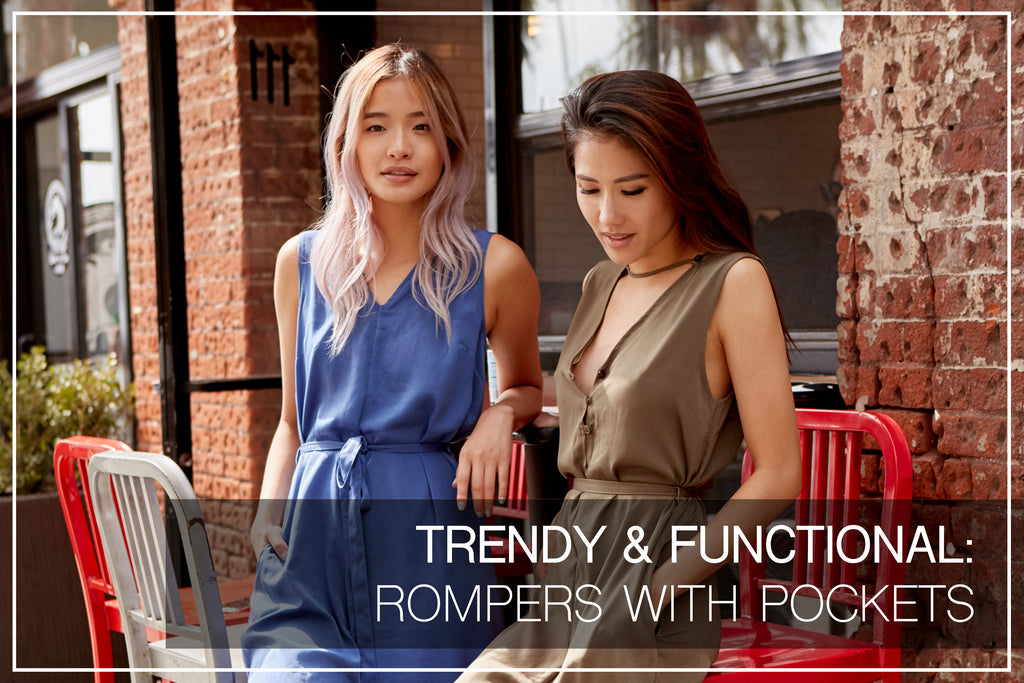 Rompers With Pockets - Trendy & Functional
