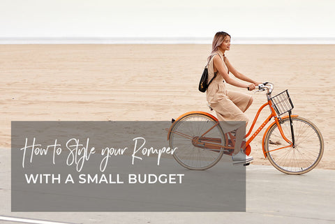 styling a romper on a budget