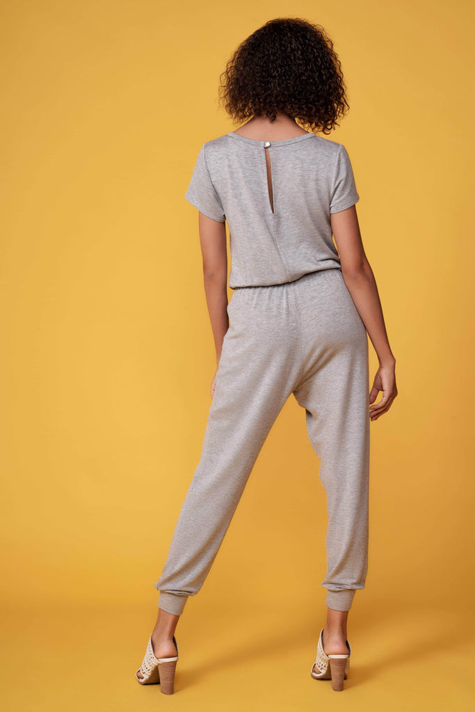 Chloe Heather Grey Jumpsuit