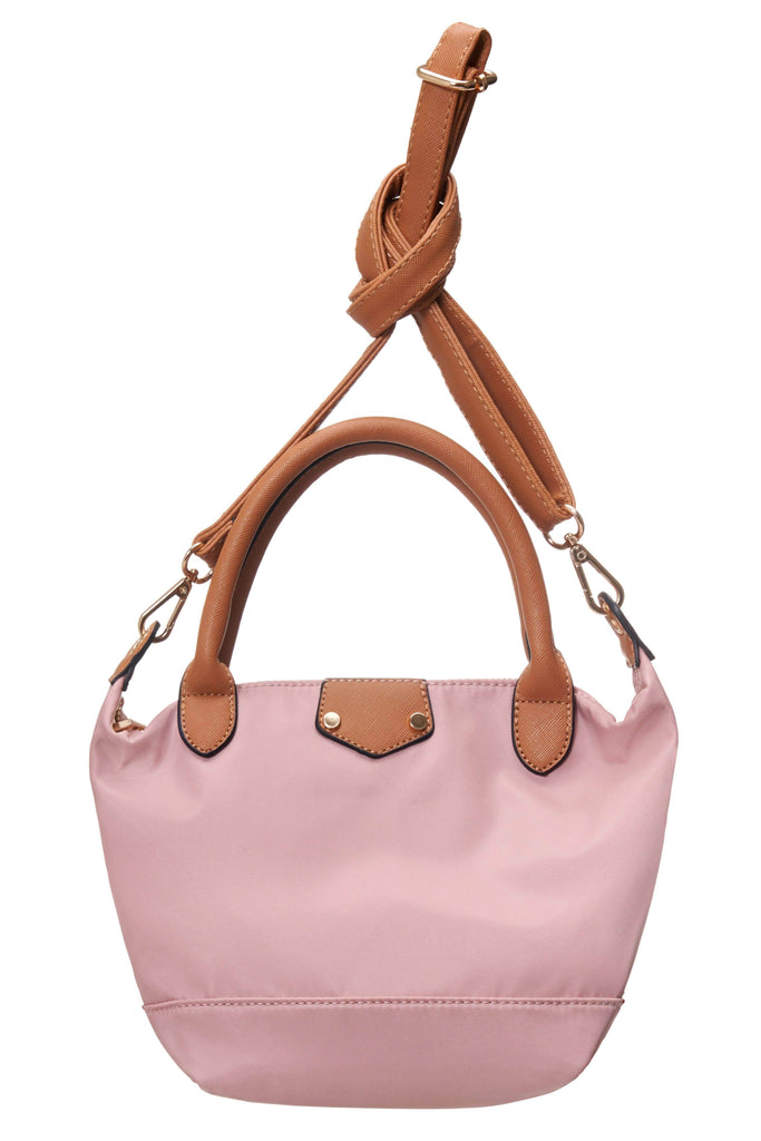 Azalea Blush Top-Handle Bag