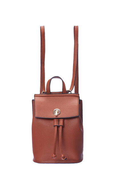 Caramel Backpack Leather Purse