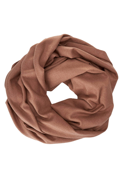 Don't Bother Me Cashmere Blend Camel Scarf