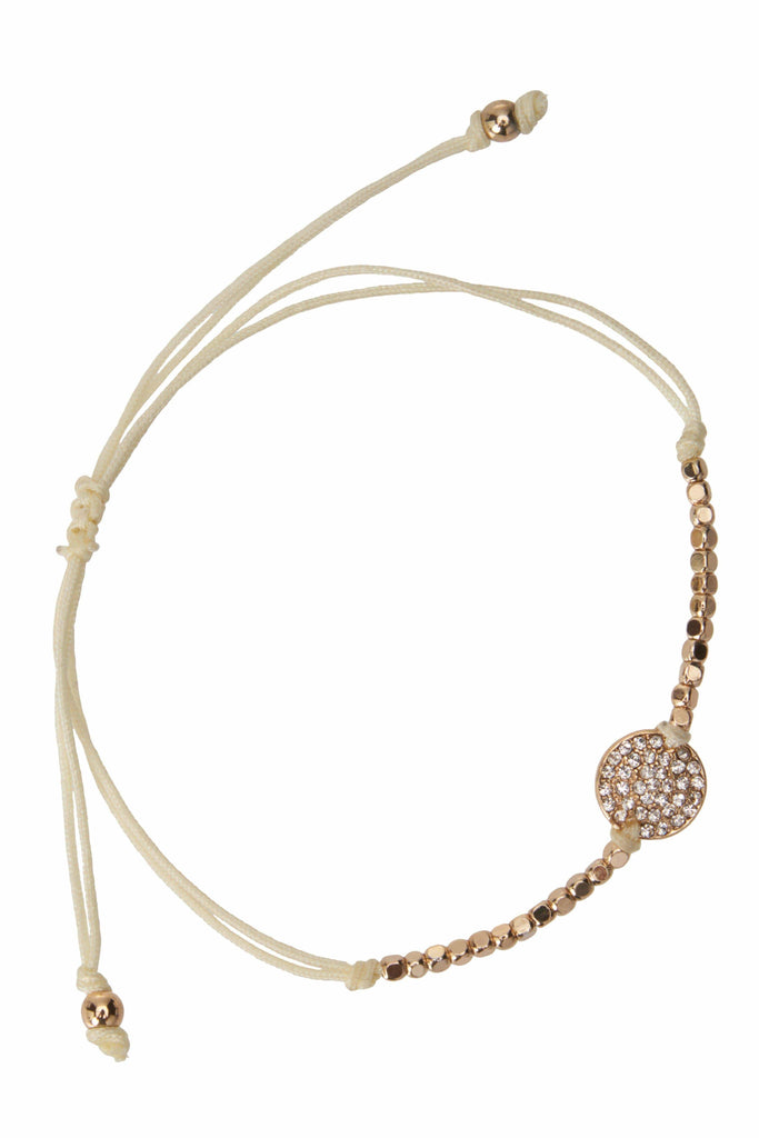 Orion Ivory and Gold Bracelet-Accessories