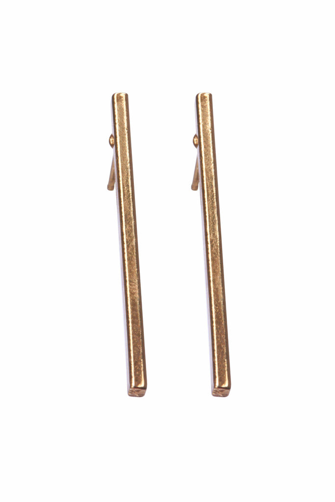 Solid Bar Earrings