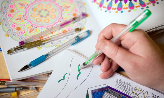 Coloring Books For Adults Benefit Mental Health, Study Suggests