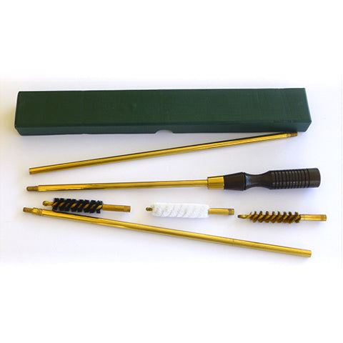 Three Piece Rifle Cleaning & Rod Set