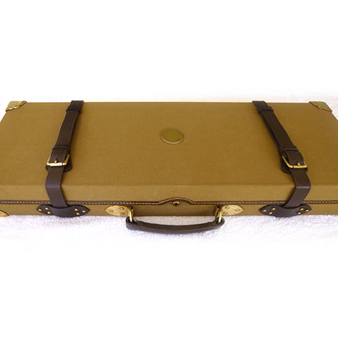 Best Oak & Canvas Case for Gun or Rifle