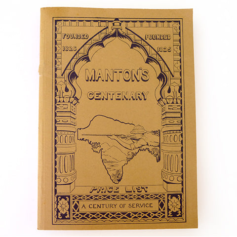 Manton's Centenary Catalogue