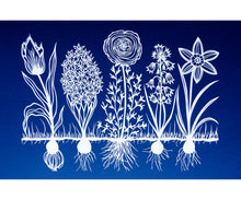 Spring Blooms Original Papercut
