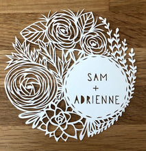 Personalized Original Papercut