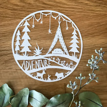 Adventure Original Papercut