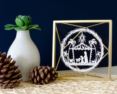 2017 Nativity Original Papercut