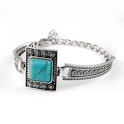 Vintage Turquoise Bracelet - All Things Jewelry