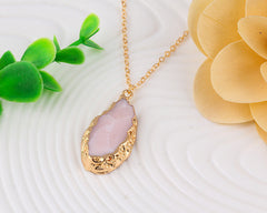 Natural Stone/Crystal Necklace - All Things Jewelry